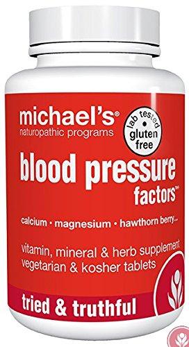 Michael's Naturopathic Programs Blood Pressure Factors Nutritional Supplements