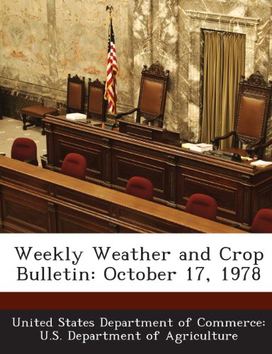 Weekly Weather and Crop Bulletin: October 17, 1978