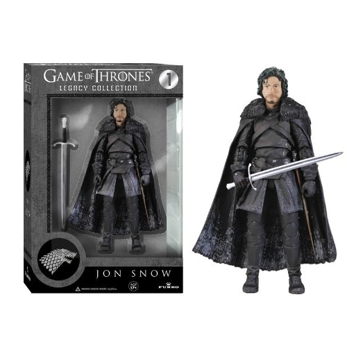 Game Of Thrones Legacy Collection Jon Snow Figura di Azione