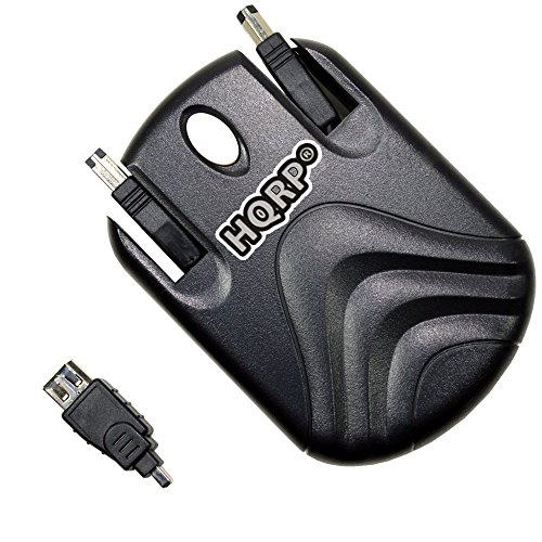 Click to buy HQRP Retractable Flat FireWire iLink Cable for ASUS Z99H (Z99H-C440S58HXW), F3Tc (F3Tc-MK36S1AGWW) Laptop plus HQRP Coaster - From only $4.91