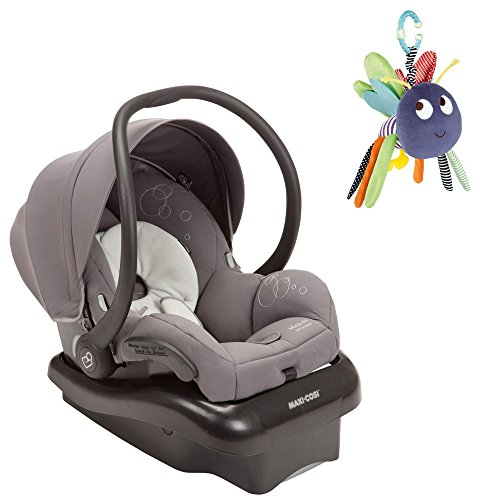 Maxi Cosi Mico Ap Infant Car Seat In Gracious Grey W Dangly Bug front-913084