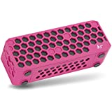 KitSound Hive Bluetooth Wireless Portable Stereo Speaker for iPhone/iPad/Android/Windows Devices - Pink