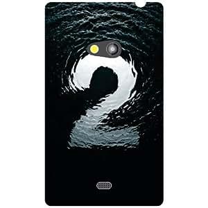 Nokia Lumia 625 Back Cover - Numeric Designer Cases