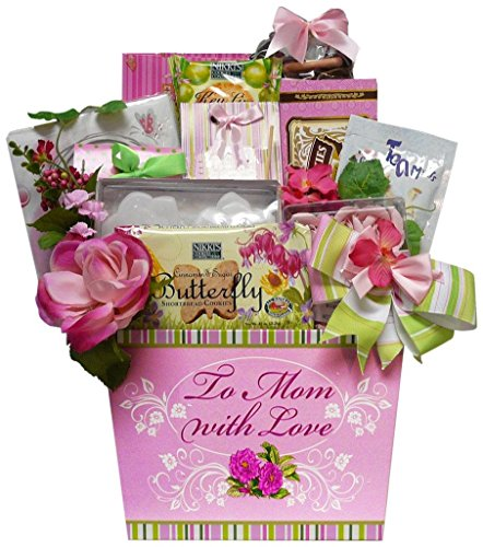 Art of Appreciation Gift Baskets To Mom With Love Tea and Cookie Gift Basket