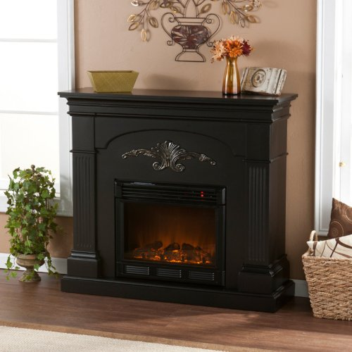 Cheap Sicilian Harvest Black Electric Fireplace Shopping Online In Us