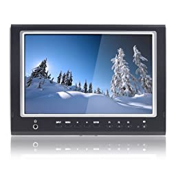 LILLIPUT 664/O/P 7 Inch 16:9 LED Field Monitor HDMI IN&OUT, Optimised for DSLR Cameras BY LILLIPUT OFFICIAL SELLER :VIVITEQ INC