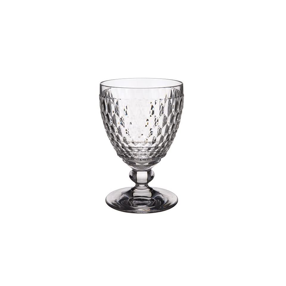 Boston Water Glass Villeroy Boch: Villeroy & Boch Boston Clear Crystal Water Goblets, Set Of