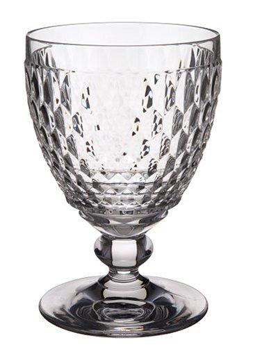Villeroy boch boston clear crystal water goblets set of 4 for Villeroy boch crystal