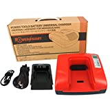 PowerSmart® Charger for BLACK & DECKER 18V Ni-MH 244760-00, A1718, A18NH, HPB18, HPB18-OPE - Built-in Dual USB Ports