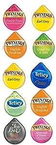 10 TASSIMO® T-Disc TEA Sampler! 8 Unique TASSIMO TEA varieties! Tetley, Twinings, Tea bar