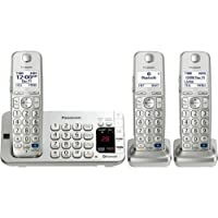 Panasonic Kx. Tge273s Dect 6.0 1.90 Ghz Cordless Phone . Silver . Cordless . 1 X Phone Line . 2 X Handset . Answering...