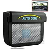 Solar Powered Exhaust System Auto Cool Car Ventilation System