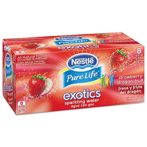 pure-life-exotics-sparkling-water-strawberry-dragonfruit-12oz-can-24-carton-by-nestle-nutritional