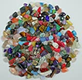 1/4 Lb Mixed Xs Mini Tumbled Gem Stones Mix Small Size 2 Polished Mineral Gemstones for Jewelry, Crafts, Crystal Healing, Wicca and Reiki. Lot Is About 114 Grams
