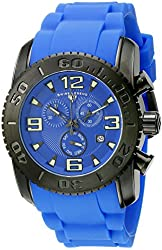 Swiss Legend Men's 10067-BB-03 Commander Analog Display Swiss Quartz Blue Watch