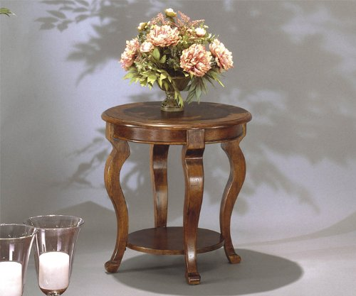Image of Bassett Mirror Company Pontevecchio Round End Table - 8125-220 (8125-220)