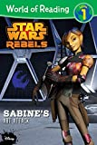 img - for World of Reading Star Wars Rebels: Sabine's Art Attack: Level 1 book / textbook / text book