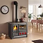 Wood Burning Cook Stove La Nordica Rosa XXL, with Baking Oven