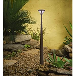 Click to buy LED Outdoor Lighting: Kichler Lighting LED Tapered Column Low Voltage Landscape Path and Spread Light from Amazon!