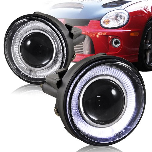 2003 - 2005 Dodge Neon Angel Eyes Halo Projector Fog Lights (Angel Eyes Fog Lights compare prices)