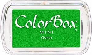 Colorbox - Tampon Encreur De Couleur Vert 45x25 mm