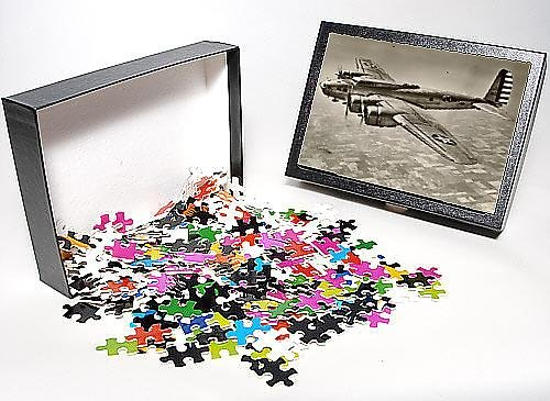 Photo Jigsaw Puzzle of Boeing B-17C Flying Fortress in flight