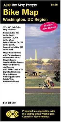 Bike Map Washington DC Region