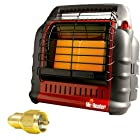 Mr. Heater MH18B California Approved BIG Buddy Indoor Safe Propane Heater + Propane One Pound Tank Refill Adapter