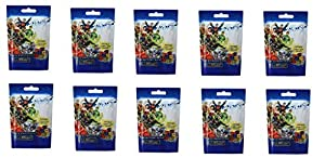 10 (Ten) Boosters Packs of DC Comics Dice Masters: Justice League Dice Building Game (10 Random Booster Packs)