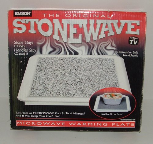The Original Stonewave Microwave Warming Plate