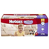 Huggies Little Movers Diapers, Size 3, 174 Count (Packaging may vary)