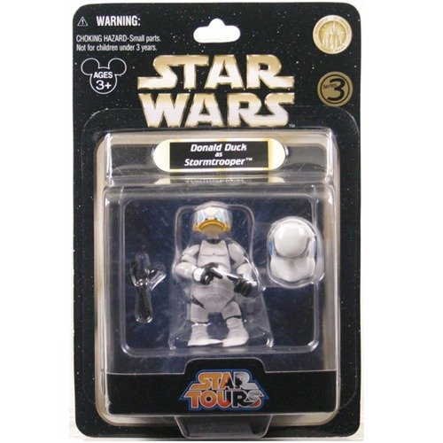 Amazon.com: Donald Duck as Stormtrooper Star Wars Star Tours Series 3