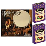 Harry Potter Divination Crystal Ball Sticker Kit and 2 - 1.2 oz Boxes of Harry Potter Bertie Bott's Every Flavour Beans Gift Set