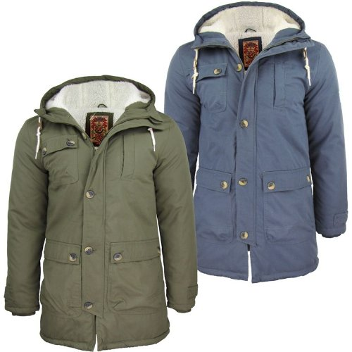 Mens Tokyo Laundry 'Braxton' Fishtail Parka Snorkel Jacket/ Coat Hooded/ Hoodie