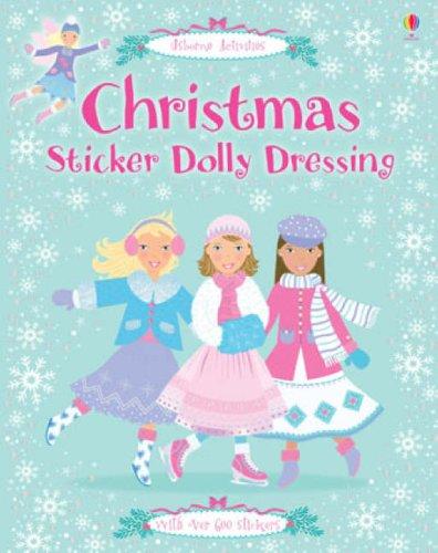 Christmas Sticker Dolly Dressing