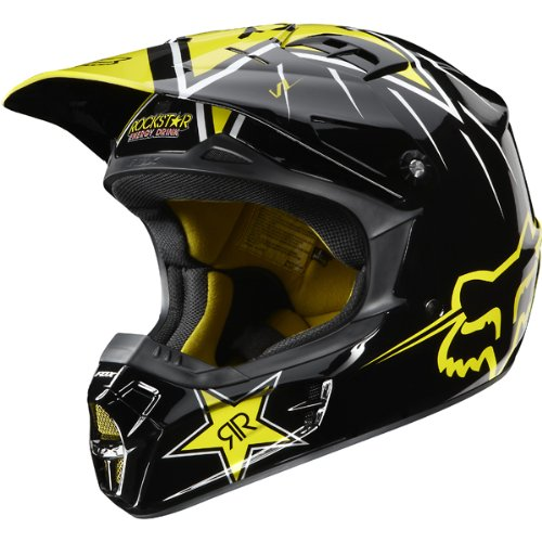 cheap motorcycle helmets rockstar energy drink officially licensed fox men s v1 motox off road. Black Bedroom Furniture Sets. Home Design Ideas