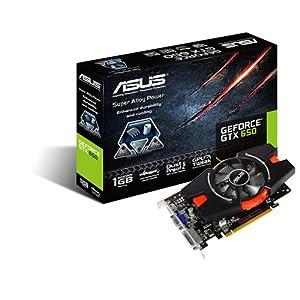 Asus GTX650-E-1GD5 -GTX650 1GB DDR5 PCI Express 3.0 128Bit VGA/DVI-D/HDMI/HDCP Video Card