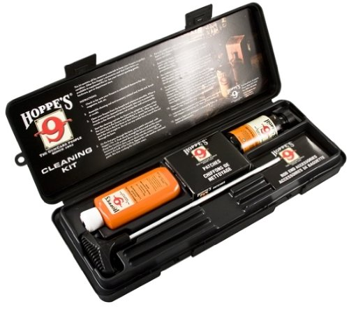 Details for Hoppes Cleaning Kit For 38 357 Caliber 9mm Pistol With Aluminum Rod Box Ef from Hoppe's