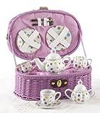 Large Dollies Tea Set/ Basket, Gumdrops