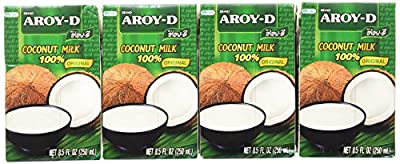 Aroy-d Coconut Milk 100% Original Net 8.5 Oz.(pack of 12) from Thai Agri