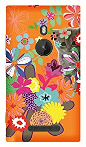 TrilMil Printed Designer Mobile Case Back Cover For Nokia Lumia 925