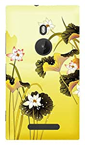 TrilMil Premium Design Back Cover Case For Nokia Lumia 925