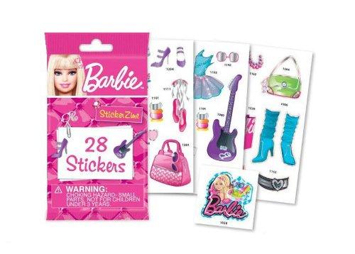 Imagen principal de Barbie 22290 - Set de 28 pegatinas para Stickerzine