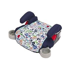 (超值)Graco Backless TurboBooster Car Seat儿童增高安全坐垫World of Cars $19.99