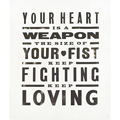 Your Heart is a Weapon the Size of Your Fist by Pure Evil (Limited Edition) - Black