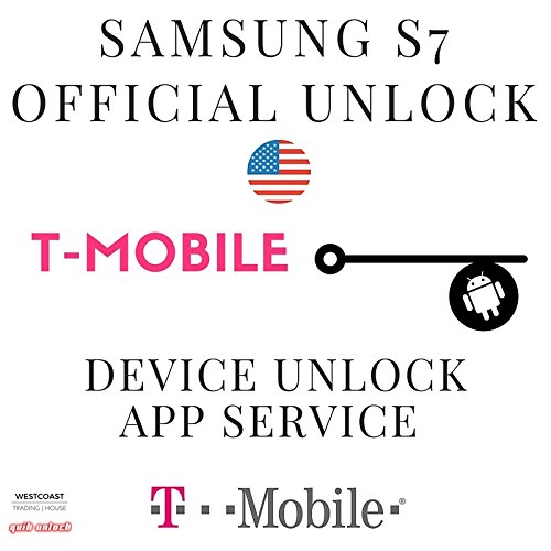 T-Mobile Samsung Galaxy S7 & S7 edge Device Unlock App Service. Also supports Galaxy S6 edge, S6 edge+, S6. Your Samsung will be unlocked permanently and operate on compatible GSM networks worldwide.