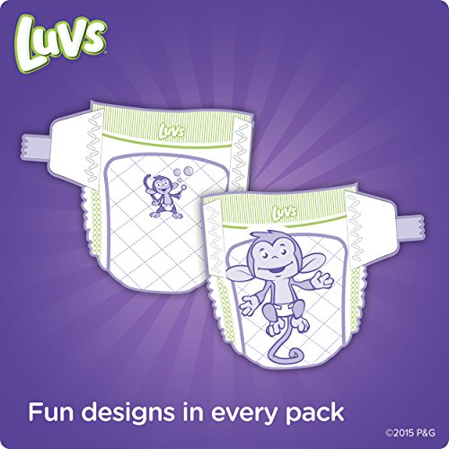 Luvs Ultra Leakguards Diapers, One Month Supply, Size 1, 264 Count