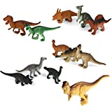 12pcs Reptiles Animal Dinosaur Model Toy Multi Color