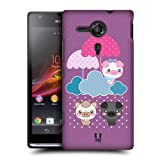 Head Case Umbrellas Kawaii Three Little Pigs Back Case For Sony Xperia Sp C5303
