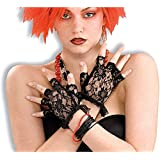 Forum Novelties Inc - Black Lace Fingerless Gloves